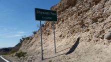 Entering Seagraves Pass